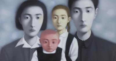 張曉剛:血緣與家庭